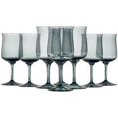 1960s, Lenox Glass Stems, Set of Eight