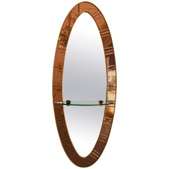 Mirror by Cristal Art, Italy, 1960s
