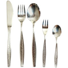 Flatware, Cutlery Set by Berndorf Model Flamenco