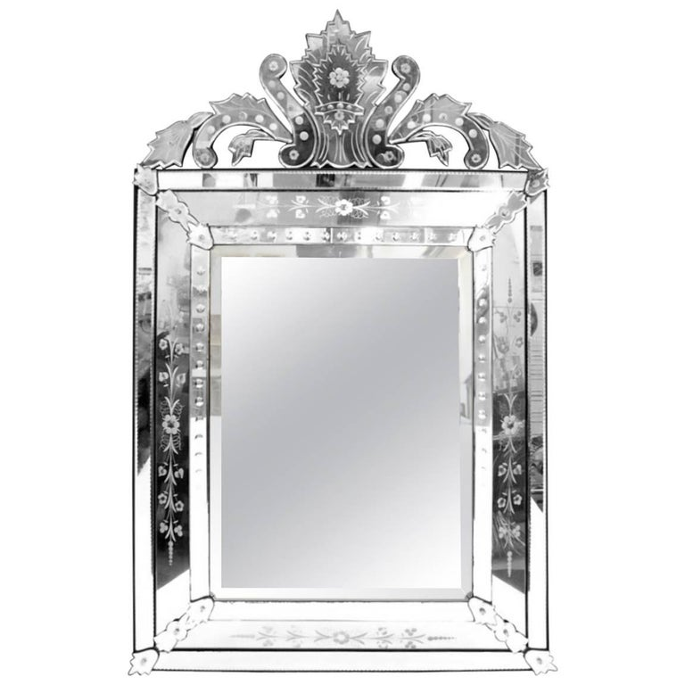 Hollywood Regency Venetian Style Mirror, Made in France