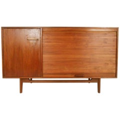 Mid-Century Modern Small Credenza by Jens Risom