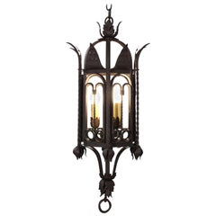 Classic 1920s Large-Scale Spanish Revival Chandelier