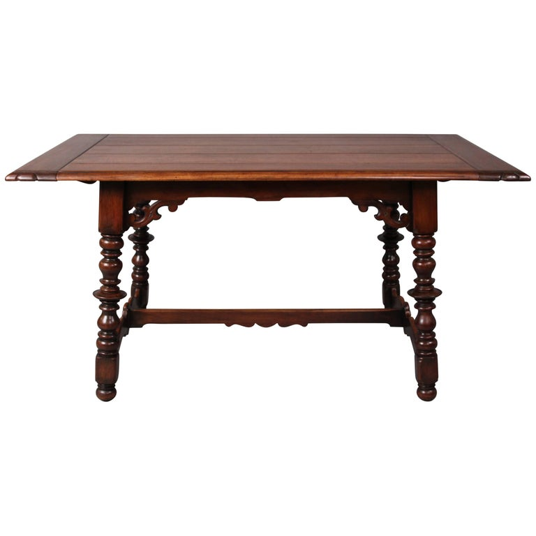 1920s Walnut Dining Table For Sale at 1stdibs : 8368413master from www.1stdibs.com size 768 x 768 jpeg 32kB