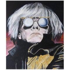 Andy Warhol by American Artist Paul Cunningham