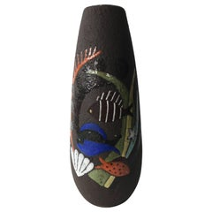 Rare Art Deco Vase by Anna-Lisa Thomson for Upsala Ekeby, 1940s