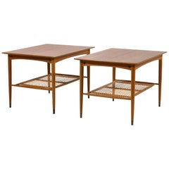 Pair of Folke Ohlsson End Tables by DUX