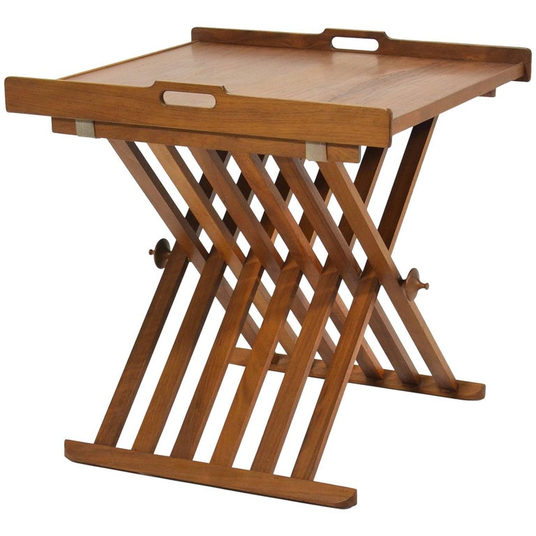 Stewart McDougall & Kipp Stewart Folding Tray Table by Directional
