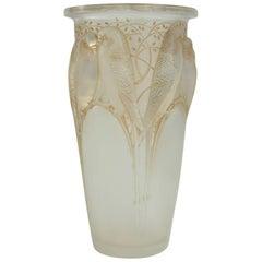 "René Lalique Opalescent ""Ceylan"" Vase"