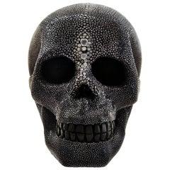 Cadavre Exquis Mini Shagreen Skull