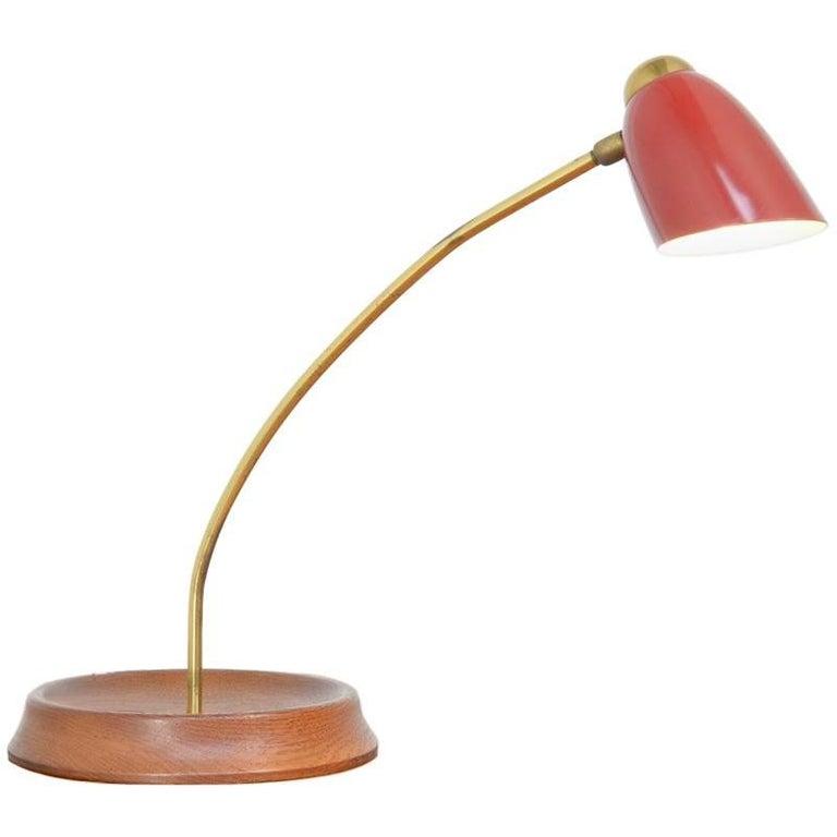 Mid-Century Desk Lamp in the Manner of Arredoluce