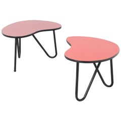 Prefacto Side Tables by Pierre Guariche for Trefac