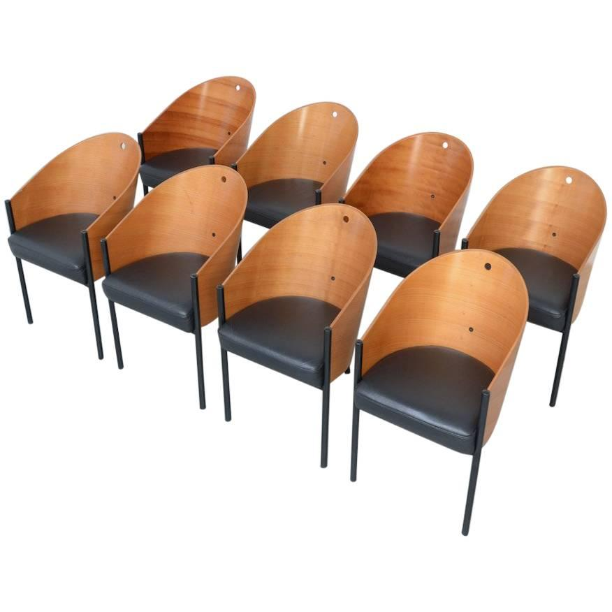 Starck Costes Driade Aleph By Eight Of Philippe Chairs At For Set rdxoBeWC