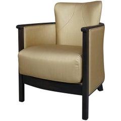 Gilded Armchair Art Deco Spirit