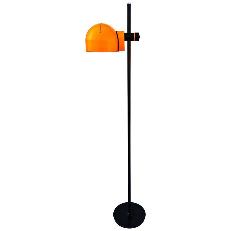 Rare Adjustable Italian Floor Lamp, 1970s