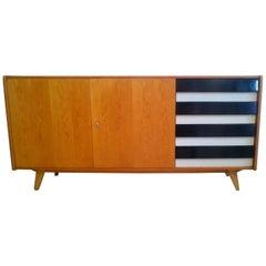 1960s Oak Sideboard by Jiroutek Interier in Prague