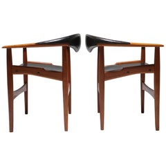 Pair of Jutex Armchairs by Arne Hovmand-Olsen