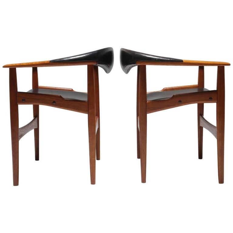 Pair of Jutex Armchairs by Arne Hovmand-Olsen