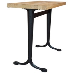 "Table ""Bistrot"" Iron Cast Foot"