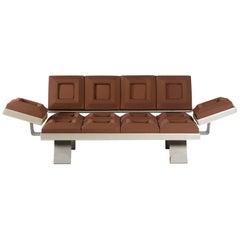 "Sofa ""Cioccosofa' ""Handcrafted Polyurethane Differentiated Lift"