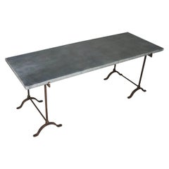 Wrought Iron Dining Room Tables - 68 For Sale at 1stdibs