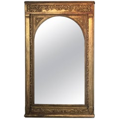 19th Century Large Gilt Mirror