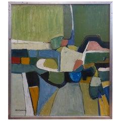 Beautiful Abstract Painting, circa 1960