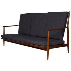 1960-1970s Teak Three-Seater Sofa