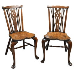Pair of Windsor Hall Chairs