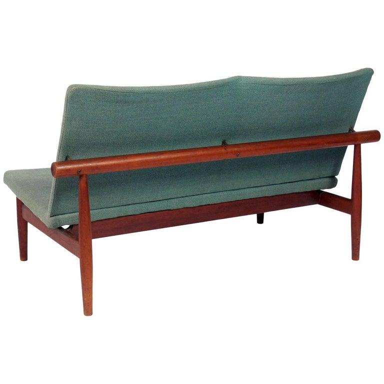 Danish modern settee by finn juhl for sale at 1stdibs for Danish modern settee