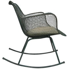Classic Modern Sculptura Rocking Chair by Russell Woodard