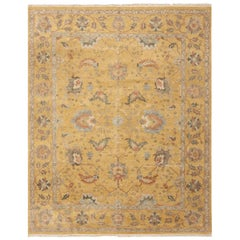 Persian Sultanabad Design Indian Modern Rug