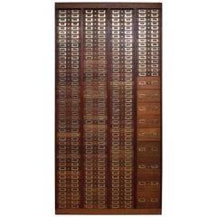 Edwardian Apothecary Cabinets