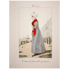 Engraving #104 Costume De Granville, Grande Parure