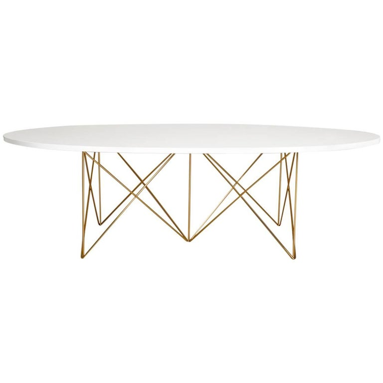 Indoor Lacquer Coffee Cocktail Table Outdoor Teak Powder Coated Base Mid-Century For Sale