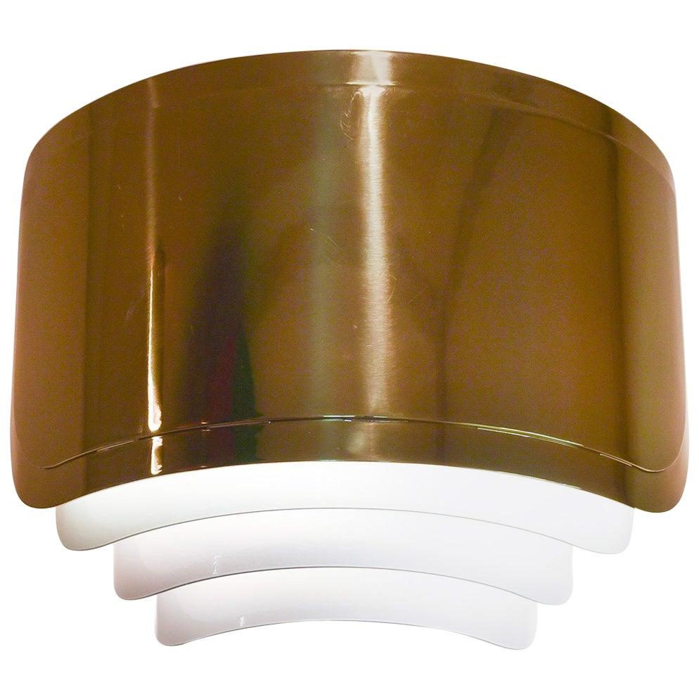 Warren Platner Custom Large Brass Sconce
