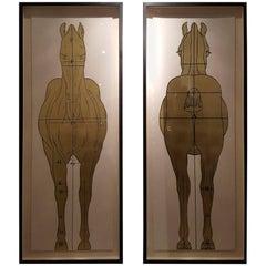 Helford Horse 1 and 2