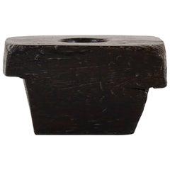 20th Century Teak Wood Black Mortar