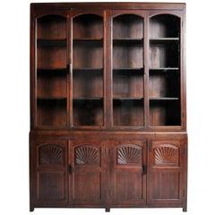 British Colonial Art Deco Bookcase