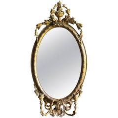 Louis XVI Period Girandole Mirror