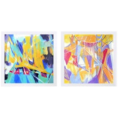 Selection of Large-Scale Abstract Paintings