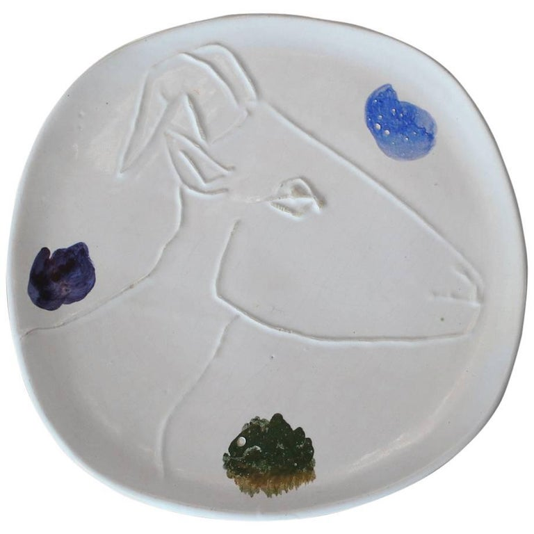 Pablo Picasso Ceramic Plate for Madoura 1