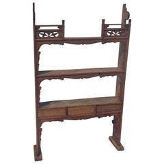 Antique Shelf, Stand Alone or Wall Mounting