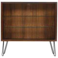 Upcycled Danish Palisander or Glass Bookcase, 1960s
