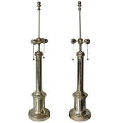 Classical Silver Lamps by Ralph Lauren