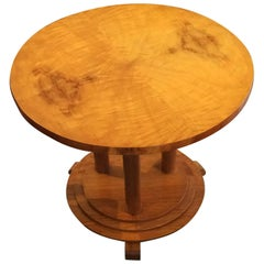 Art Deco Round Stepped Coffee Table