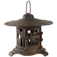 Japanese Iron Garden Lantern