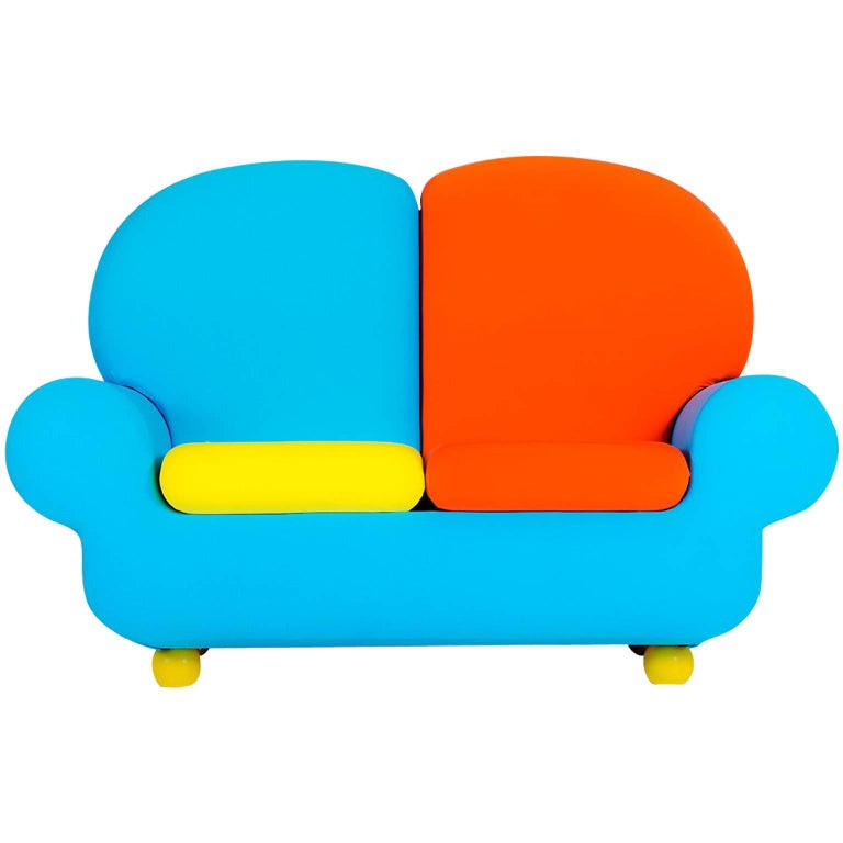 "Sofa Two Seats ""Papi Colors"" the Most Customizable Sofa"