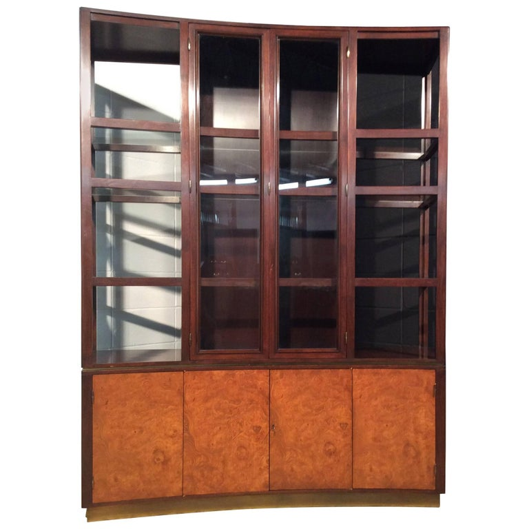 Edward J Wormley for Dunbar Display Cabinet Superstructure Model No. 6027
