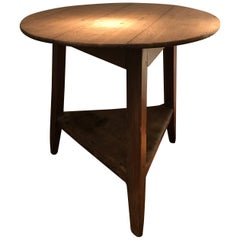 English Bleached Cricket Table