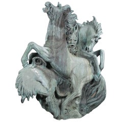 20th Century Italian Sculptural Fountain by Benedetto Robazza